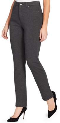 Gloria Vanderbilt Women's Amanda Slimming High-Waisted Ponte Pants
