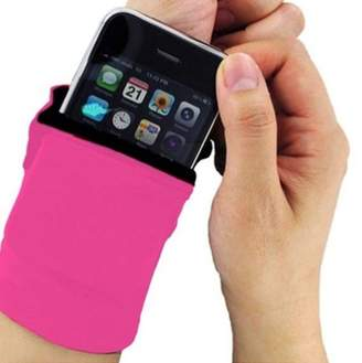 N. Freeze Fit Inc New Thick Solid Wristband Wallet With Zipper For Gym Workout Walking