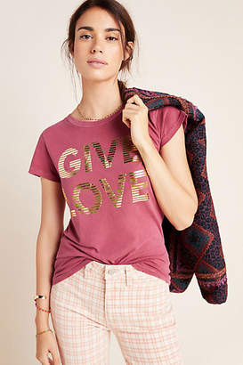 story. I Am My Give Love Graphic Tee