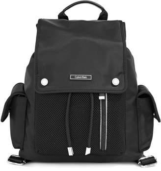 Calvin Klein Nylon and Mesh Utility Backpack