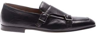 Doucal's Loafer Leather Monk Strap