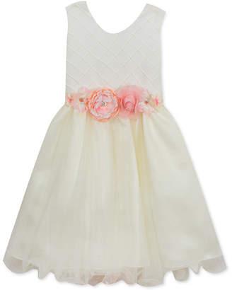 Rare Editions Pintuck-Bodice Dress, Little Girls