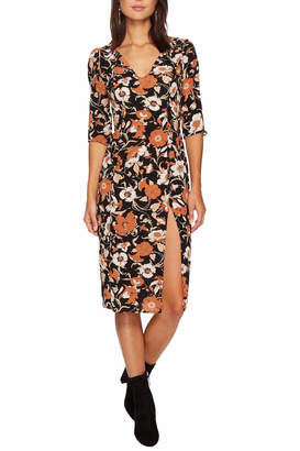 For Love & Lemons Floret Print Midi