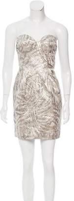 Leifsdottir Strapless Brocade Dress