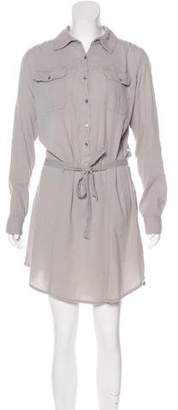 Calypso Long Sleeve Knee-Length Dress