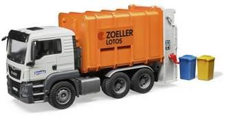 Bruder MAN TGS Rear Load Garbage Truck - Orange