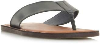 Dune Ivan Leather Toe Post Sandals