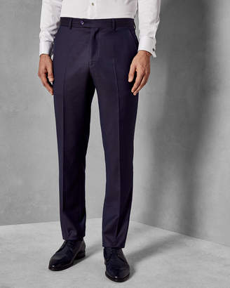 Ted Baker AMBANT Debonair slim fit pin dot wool suit trousers