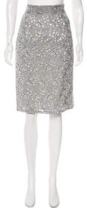 Peggy Jennings Lace Knee-Length Skirt