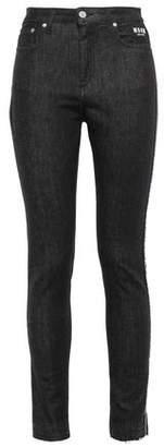 MSGM High-rise Skinny Jeans