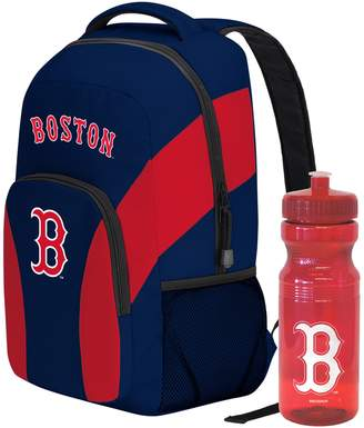 DAY Birger et Mikkelsen Boston Red Sox Draft Backpack with 24-Ounce Pull-Cap Water Bottle by Northwest
