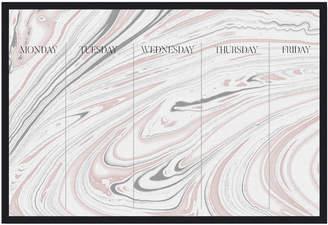 Oliver Gal Weekly (Framed Whiteboard)