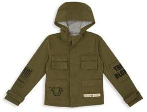 True Religion Little Boy's& Boy's Military Jacket