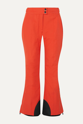 Moncler Flared Ski Pants - Orange