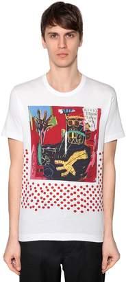 Comme des Garcons Basquiat Printed Cotton Jersey T-Shirt