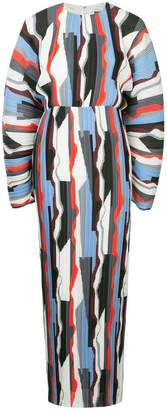 SOLACE London printed dress