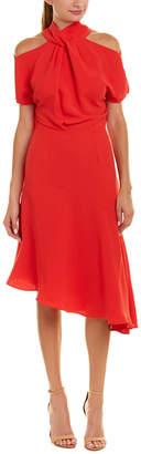 Reiss Zinc A-Line Dress