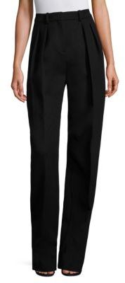 Runway Temina Virgin Wool & Cashmere Pants $425 thestylecure.com