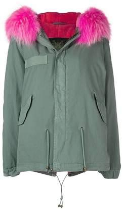 Mr & Mrs Italy fur trim coat