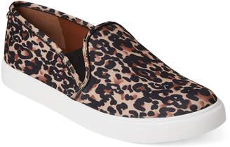 Steve Madden Leopard Symba Slip-On Sneakers