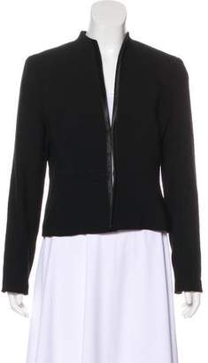 Magaschoni Collarless Structured Jacket