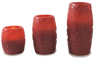 APOTHECARY Apothecary Filigree 3-pc. Flameless Candle