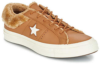 a2ac107520bd Brown Leather Converse - ShopStyle UK