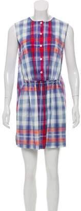 Thakoon Button-Up Mini Dress