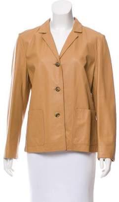 Michael Kors Notch Collar Long Sleeve Jacket