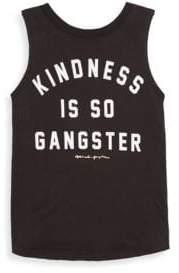 Spiritual Gangster Girl's Kindness Is Gangster Tank