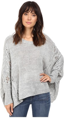 BB Dakota Harrow Cropped Cable Sweater $96.80 thestylecure.com
