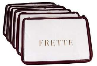 Frette Set of 6 Maggie Ricamo Pillow Shams w/ Tags