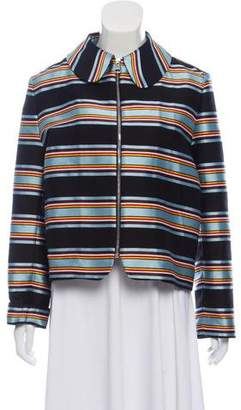 J.W.Anderson Striped Collar Jacket