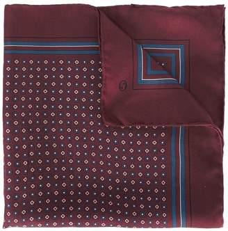Gucci floral Web pocket square