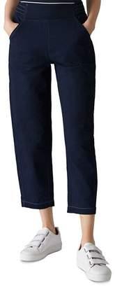 Whistles Cropped Denim Pants