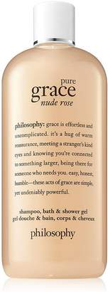 Philosophy pure grace nude rose shampoo, bath & shower gel