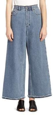Acne Studios Women's Phelina Denim Trousers - Blue - Size 40 (8)