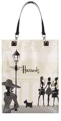 Harrods Medium Knightsbridge Shopping Shopper Bag