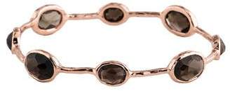 Ippolita Smoky Quartz Rock Candy Rosé Bangle