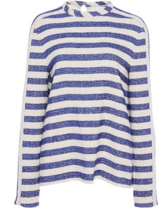 Martin Grant Striped Terry Sweatshirt