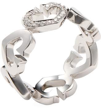 Cartier Women's Vintage Diamond Heart Of Ring