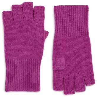 Halogen Cashmere Fingerless Gloves