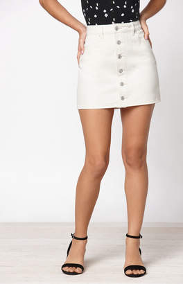 Pacsun Button Down Mini Skirt