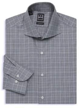 Ike Behar Plaid Dress Shirt