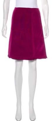 Betsey Johnson A-Line Ruffle-Trimmed Skirt