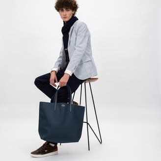 Lacoste (ラコステ) - 鹿の子地風PVCレザートートバッグ