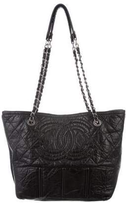 Chanel Shopping In Moscow Tote Black Shopping In Moscow Tote