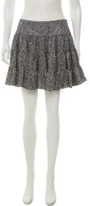 Balenciaga Silk Ruffle Mini Skirt w/ Tags
