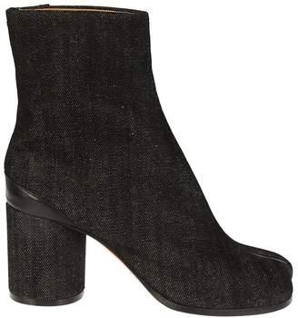 Maison Margiela Denim Tabi Ankle Boots