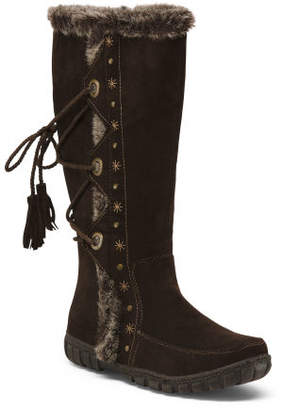 Side Zip Fashion Storm Boots